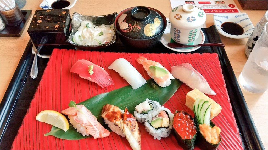 敬老の日を忘れてて次の日に祖父母にお寿司を御馳走してきました♪お金の幸せな使い方(笑)