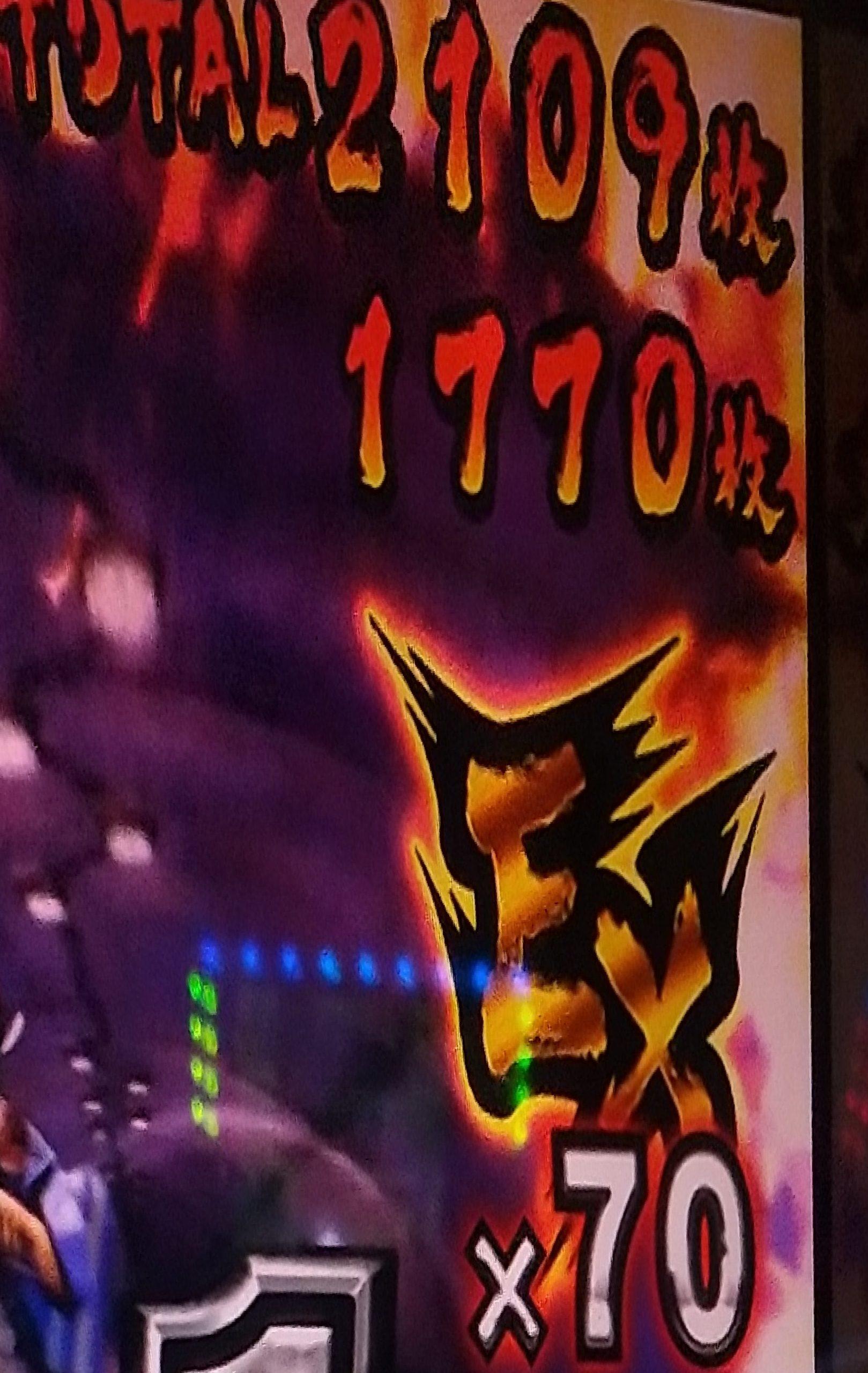 サラリーマン金太郎(5号機)でボーナスで一撃約1700枚出したった(笑)(笑)